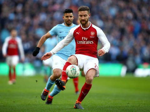 Shkodran Mustafi hits back at Gary Neville's criticism of 'pathetic' Arsenal