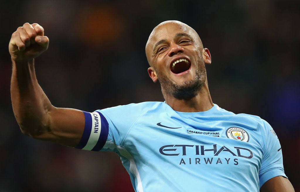 Vincent Kompany claims Arsenal rematch will be the hardest game of Manchester City's season