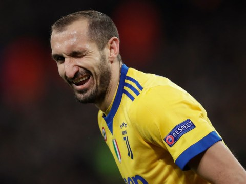 Giorgio Chiellini basically brands Tottenham bottlers after collapse against Juventus