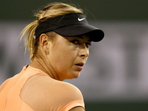 Maria Sharapova beaten in Indian Wells first round by opponent who idolises her