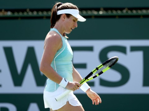 Johanna Konta admits Indian Wells defeat to 18-year-old is 'one of toughest losses'