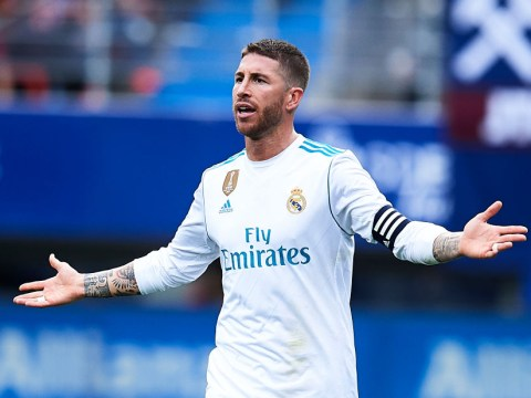 Sergio Ramos s**ts himself during Real Madrid win and runs to the toilet mid-match