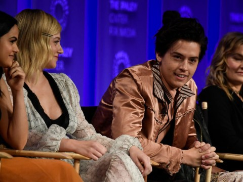 Riverdale fan asks Cole Sprouse if he's dating Lili Reinhart and it's awkward unchained