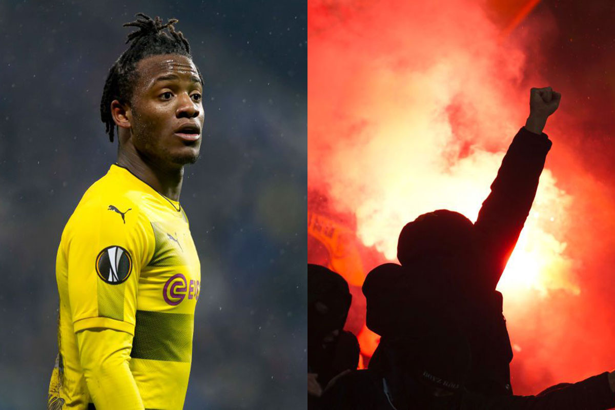 Michy Batshuayi has message for Uefa after racism case is dropped