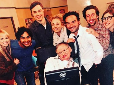 Big Bang Theory fans demand Stephen Hawking tribute episode as physicist dies