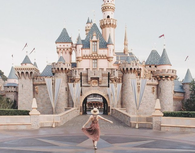 Carolyn Stritch fakes trip to Disneyland to make point about