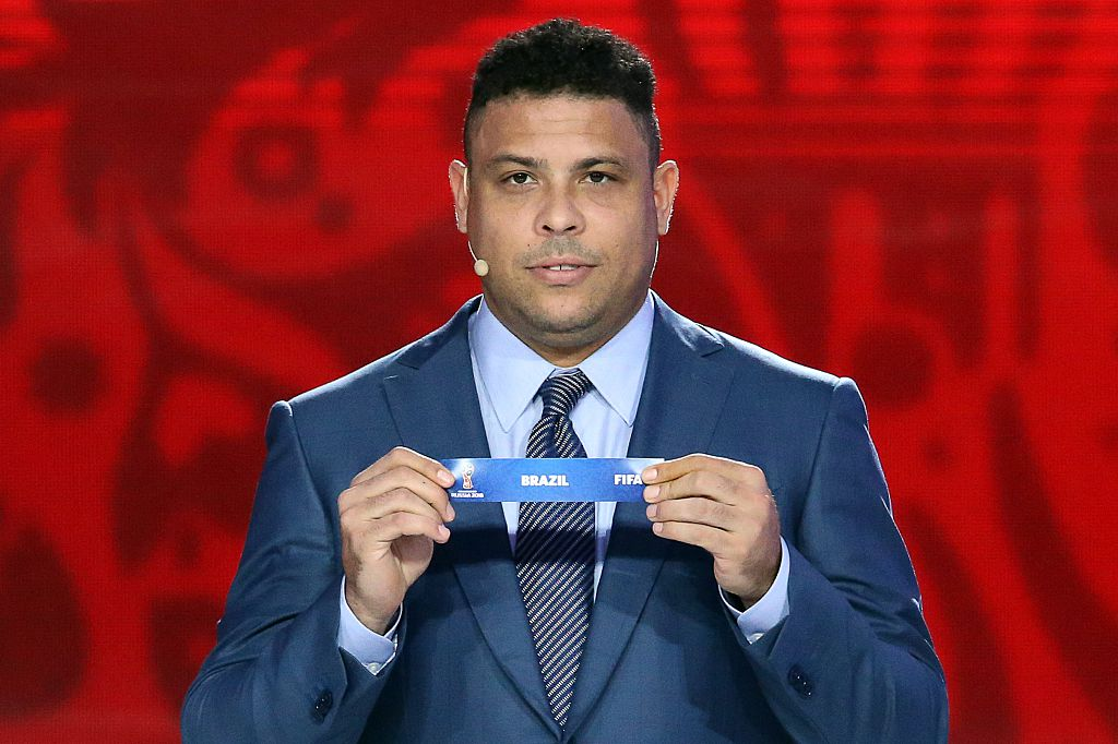 Ronaldo names England among the challengers to Brazil at the 2018 World Cup