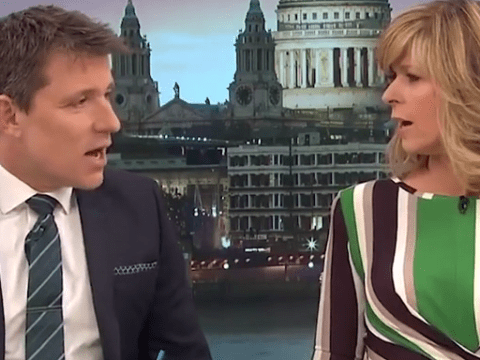 Kate Garraway gets mad with Ben Shephard as he 'forgets' about Mother's Day