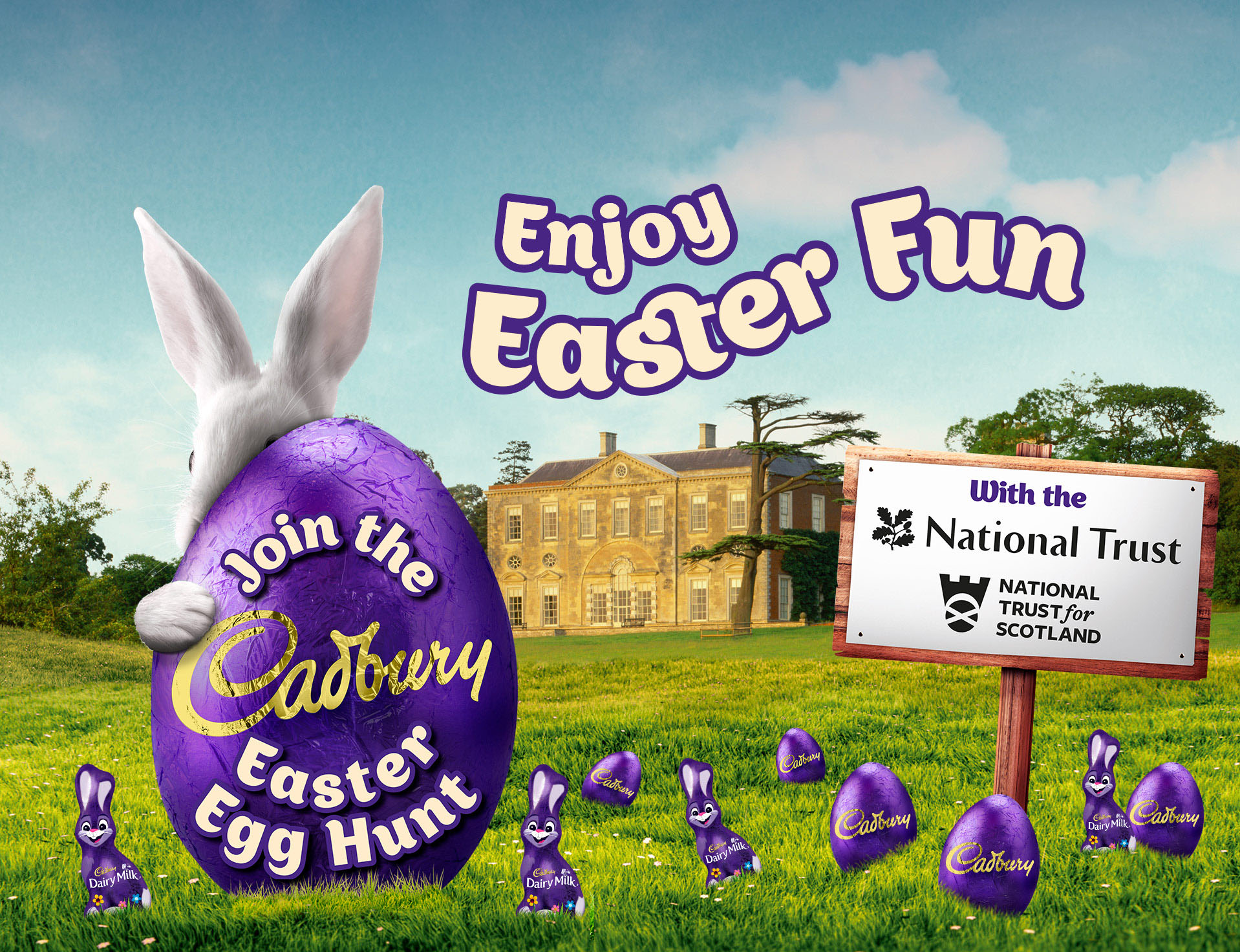 Where are the Cadbury Easter Egg Hunts and how to get involved?