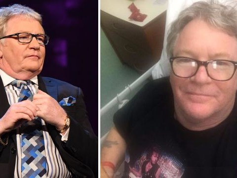 Jim Davidson in hospital recovering from gall bladder surgery