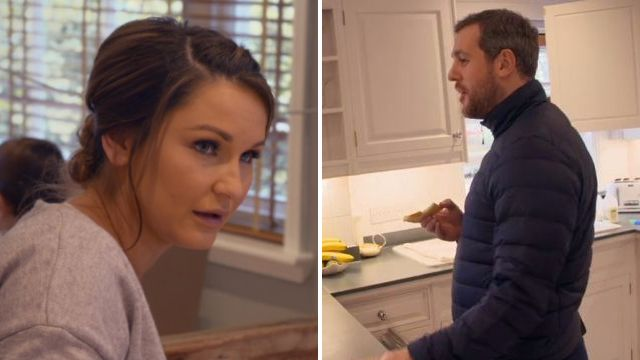 Hangry Paul Knightley had a strop over cheese on toast in The Mummy Diaries and Sam Faiers wasn't having it