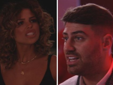 Towie returns with an all out row as as Chloe Lewis and Lockie fight about his relationship with Yaz