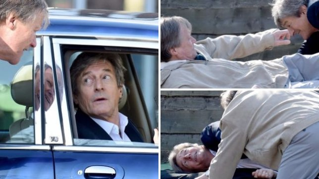 Lewis and Roy fight in Coronation Street