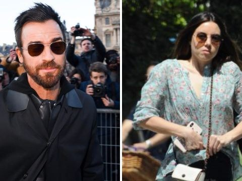 Justin Theroux is 'just friends' with Aubrey Plaza after Jennifer Aniston split