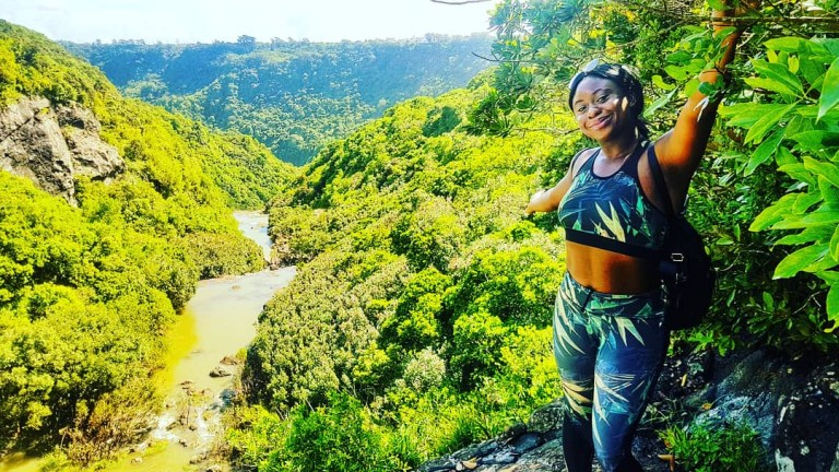 Hiking Tamarind Falls