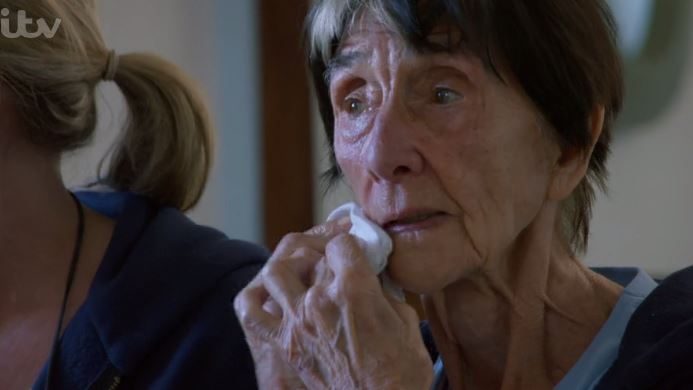 EastEnders' June Brown and Shaun Ryder rub urine into their faces on 100 Years Younger
