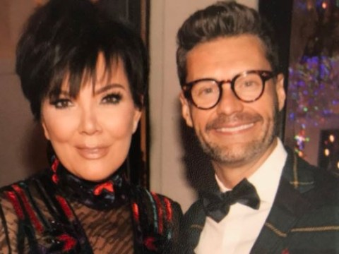 Kris Jenner supports 'BFF' Ryan Seacrest at the Oscars amid sexual harassment allegations