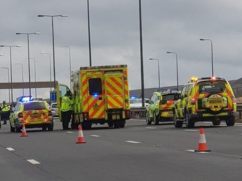 Why is the M62 closed? Eastbound lane shut due to accident