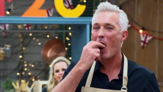 martin kemp on celebrity bake off
