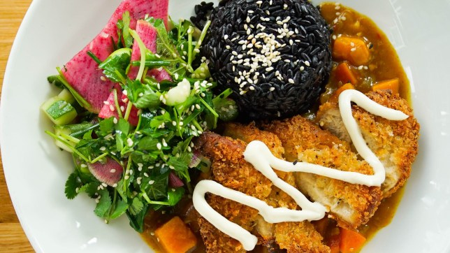 Mildreds vegan chicken katsu curry