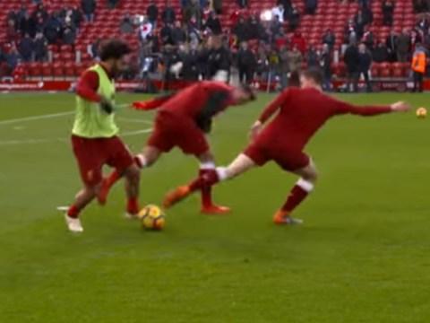 Mohamed Salah embarrasses Liverpool team-mates before Watford clash