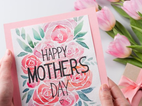 How to make a homemade Mother's Day card