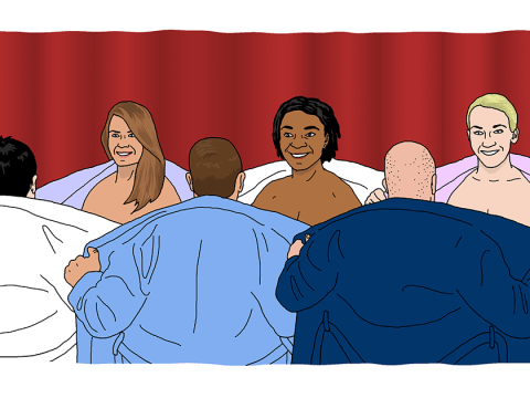 I tried naked speed dating and it was actually pretty amazing