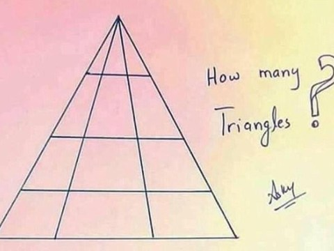 How many triangles puzzle: Can you crack it?