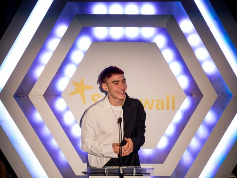 Olly Alexander explains why he ignored advice to hide sexuality as he speaks at Stonewall fundraiser