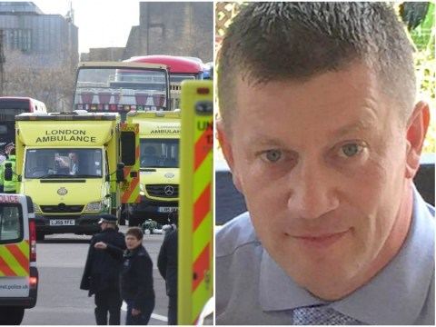 Westminster terror attack anniversary: Tributes to PC Keith Palmer