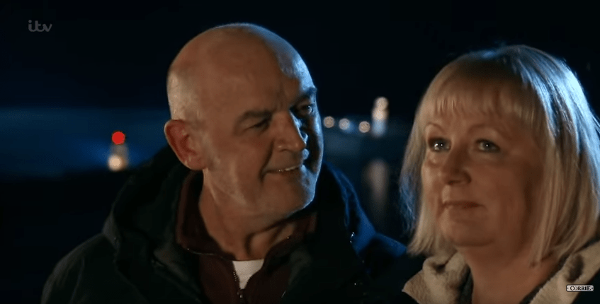 Phelan and Eileen leave Coronation Street