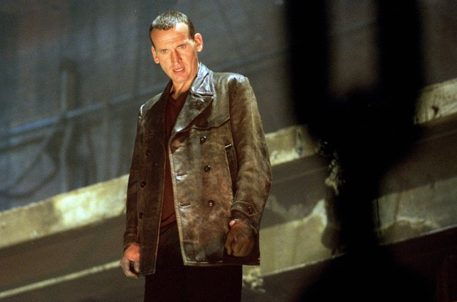 TELEVISION PROGRAMMES... Doctor Who; Christopher Eccleston pictured as Doctor Who in a scene from the first episode of a new series of the BBC science fiction show.