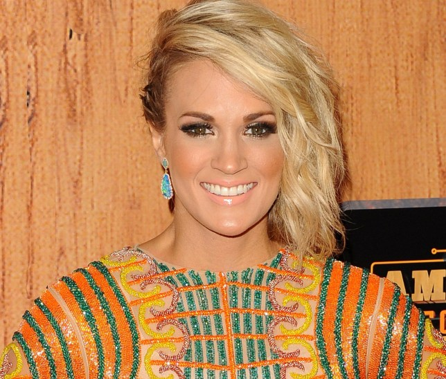 Singer Carrie Underwood attends the American Country Countdown Awards in Los Angeles, America on 1 May 2016. Mandatory Credit: Photo by Broadimage/REX/Shutterstock (5669182p)