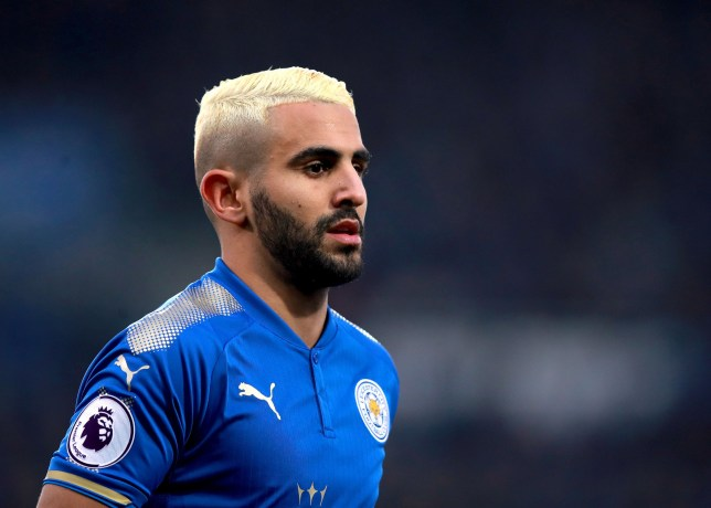 Riyad Mahrez. File photo dated 02-12-2017 of Leicester City's PRESS ASSOCIATION Photo. Issue date: Friday February 9, 2018. Riyad Mahrez will miss a third successive match for Leicester when they travel to Manchester City. See PA story SOCCER Leicester Team. Photo credit should read Mike Egerton/PA Wire