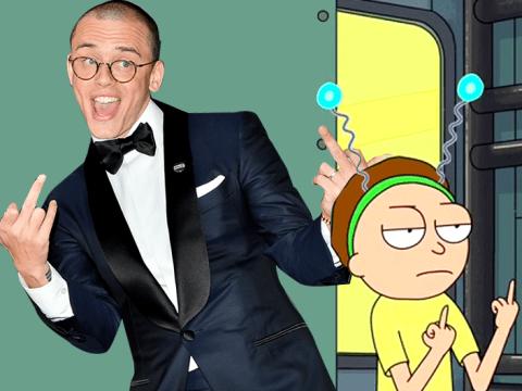 Ricky and Morty actually help Logic promote his new mixtape Bobby Tarantino II