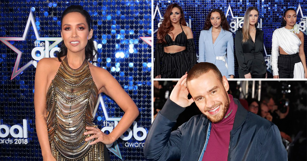Liam Payne, Little Mix and Myleene Klass lead the star-studded Global Awards red carpet