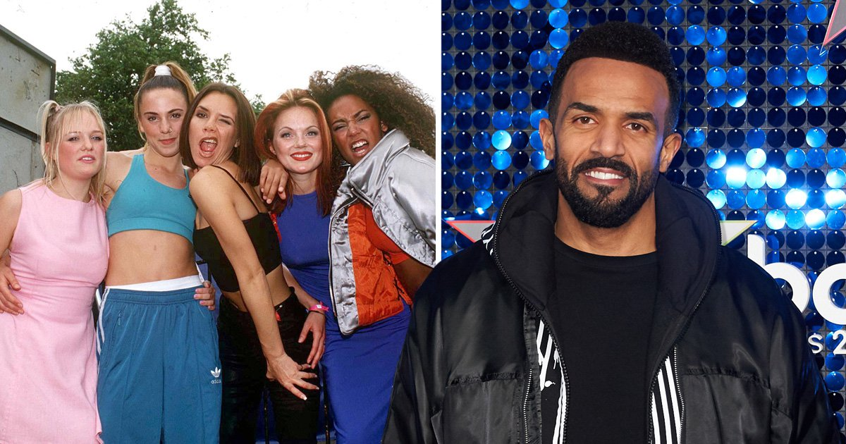 Craig David claims the Spice Girls reunion isn't 'authentic'