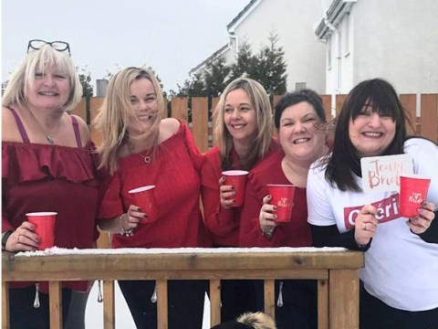 This hen party is stranded in Edinburgh because of the snow