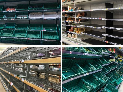 Why supermarket shelves are still empty across the UK