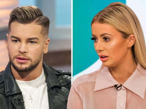 Olivia Attwood and Chris Hughes have a blazing row about flirting in the latest Crackin' On teaser