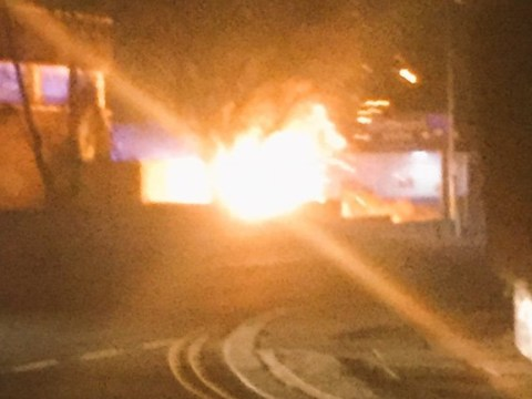 Explosion leaves 22,000 homes without power overnight