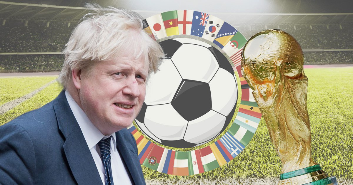 Boris Johnson says England could pull out of 2018 World Cup over Russia poison probe