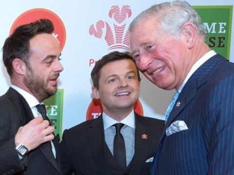 Solo Cheryl and Ant and Dec get a royal welcome at star-studded Prince's Trust Awards