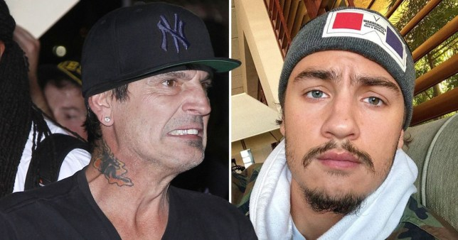 Tommy Lee claims his son punched him