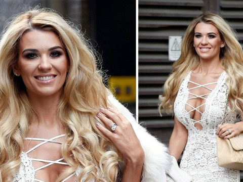 Paddy McGuinness' wife Christine is blinged AF as she films for Real Housewives of Cheshire