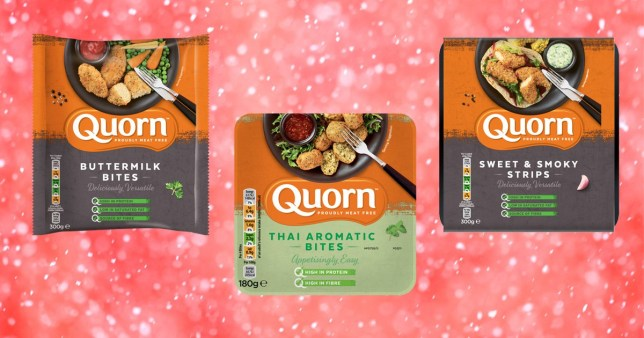 Quorn's new vegetarian spring products