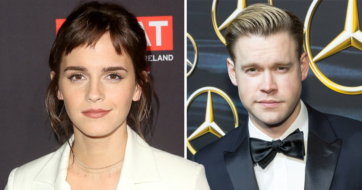 Emma Watson gets 'friendly' with Glee star Chord Overstreet sparking dating rumours