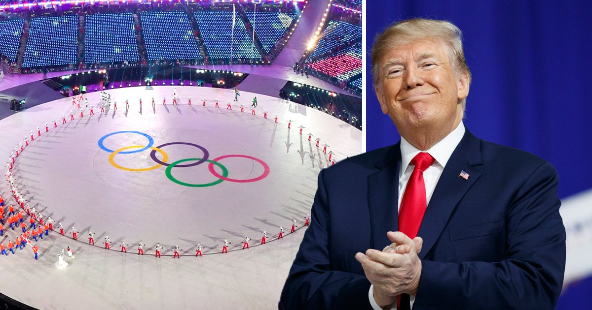 Donald Trump takes the credit for success of the Winter Olympics