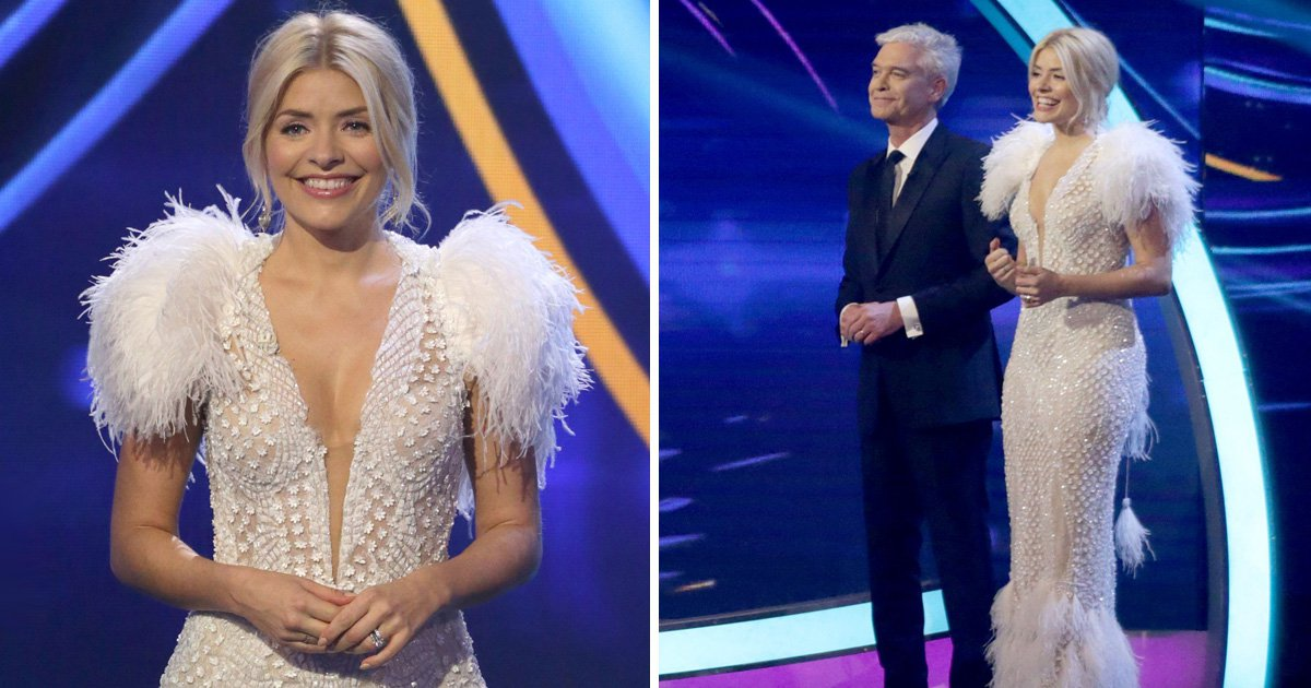 Where can you get Holly Willoughby's dress from Dancing On Ice final 2018?