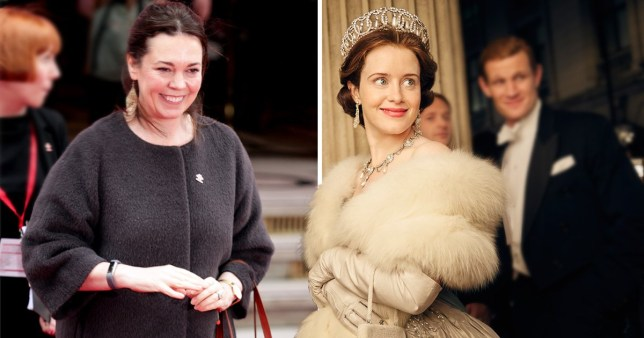 Olivia Colman the Crown Claire Foy
